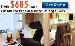 Single Rooms Luxury Dorms