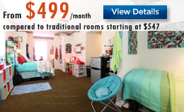 Triple Rooms Luxury Dorms