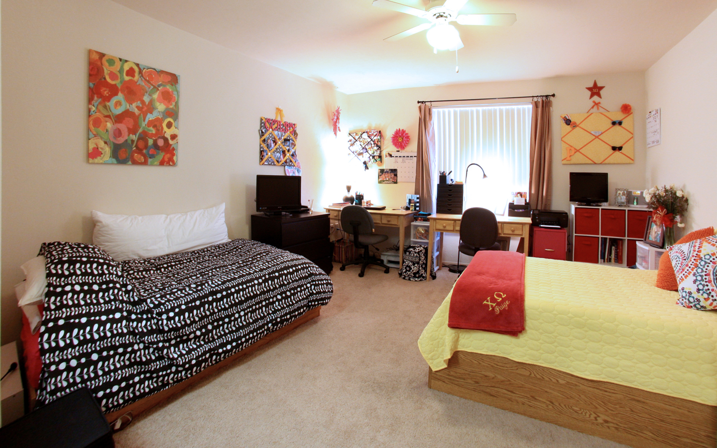 Decorating Ideas > Windsor Hall Double Dorm Rooms  Newer, Nicer, 60% Bigger  ~ 022502_Double Dorm Room Ideas For Guys