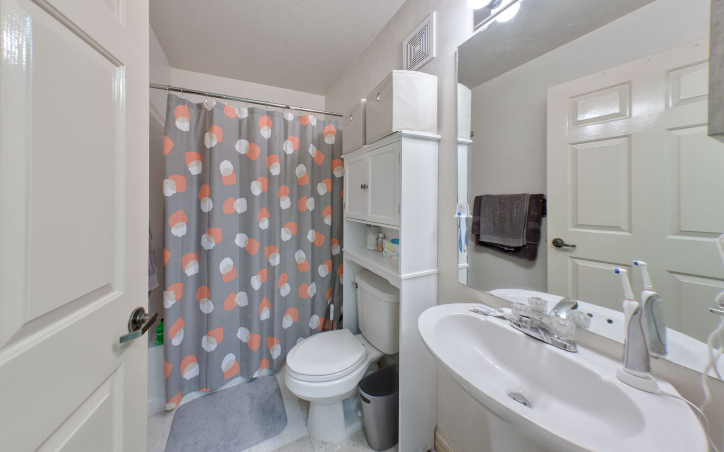 Single Dorm Room With Attached Bath