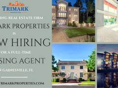 Trimark Properties now hiring for leasing agent sales position in Gainesville, FL